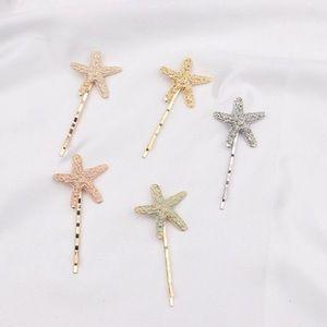 Starfish ⭐️  Bobby pins set - NWT